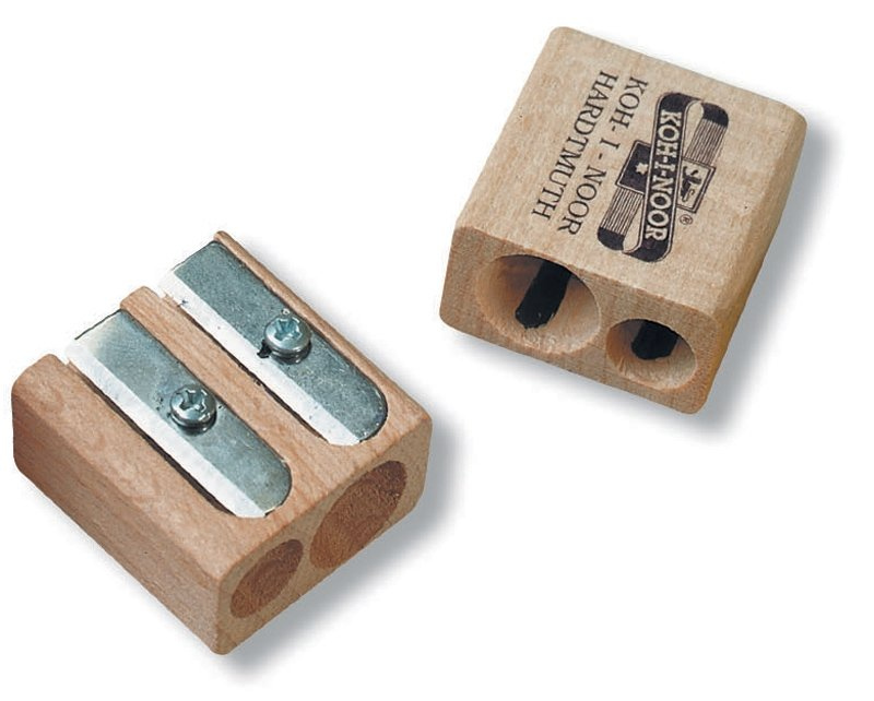 K9095-33 Ascutitoare dubla lemn natur - Koh-I-Noor