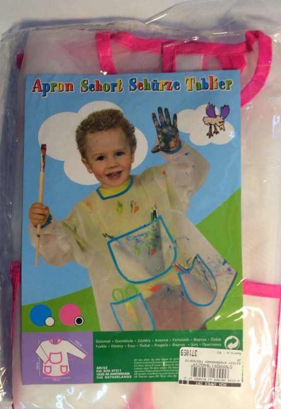 371099 - Apron Short - Sort protectie copii - roz - ANT-CH
