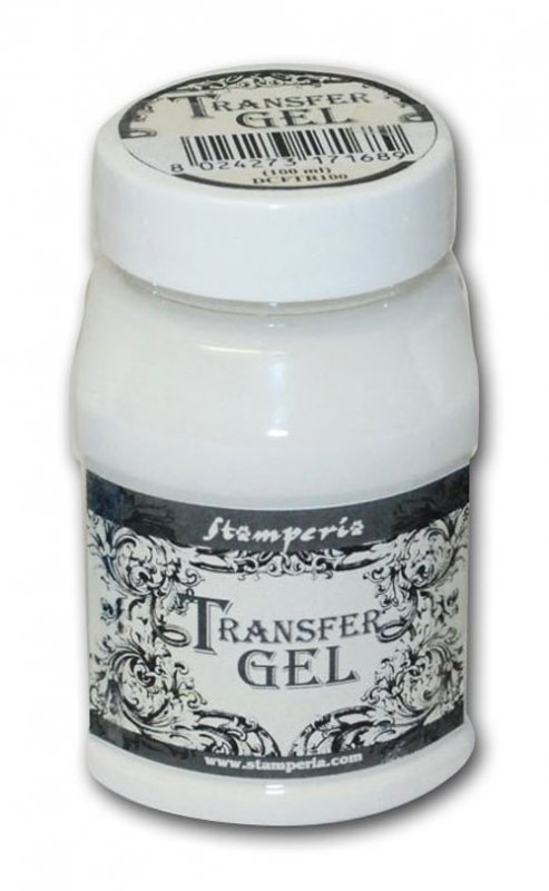 DCFTR100 - Gel pentru transfer 100 ml - Stamperia - Transfer Gel