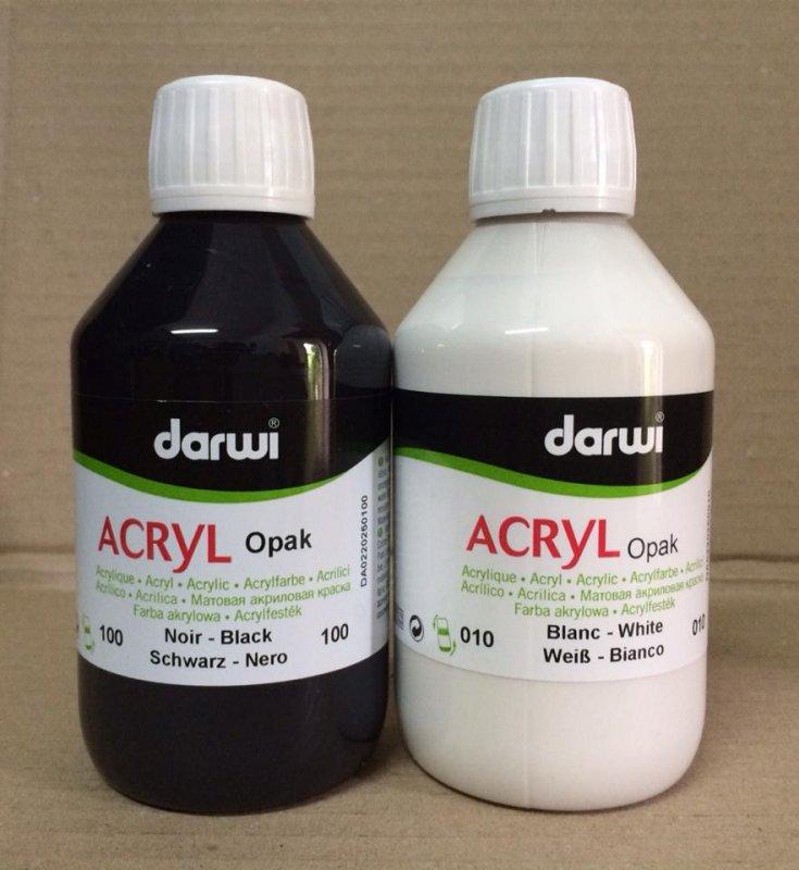 Acrilic opac 250ml Darwi