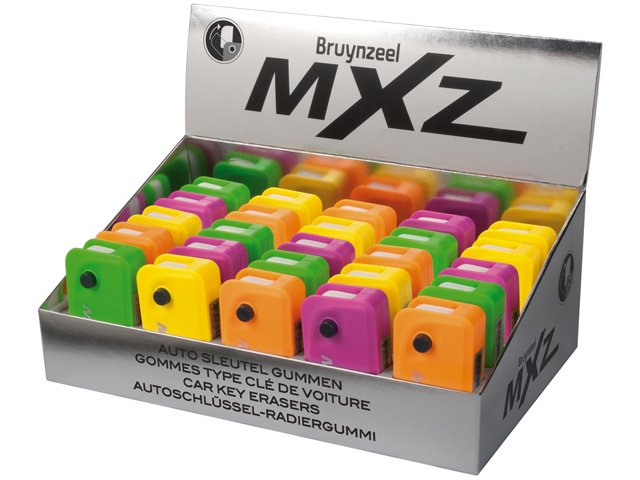 1217D25 Set 25 radiere cu mecanism de cheie de masina MXZ - Bruynzeel