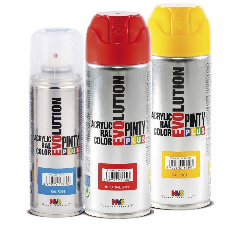 Spray acrilic lucios 400ml - Pinty Plus Evolution 520CC