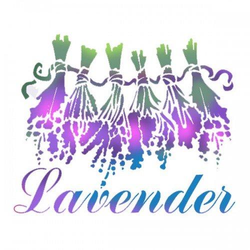 KSD159 - Sablon 20 x 15, Stamperia - Lavender