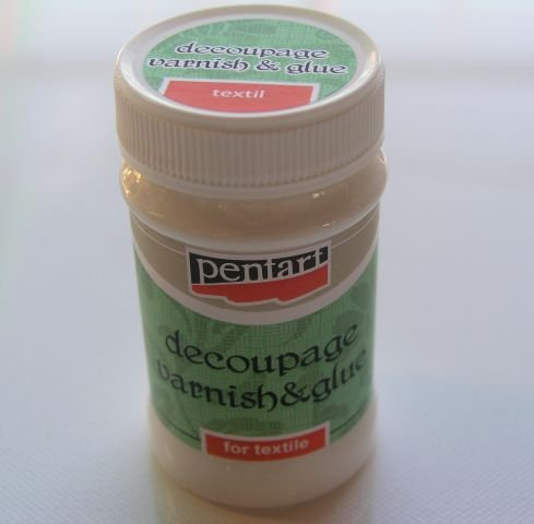 1456 - Adeziv Decupaj - Textil - Pentart - 100 ml - 750300