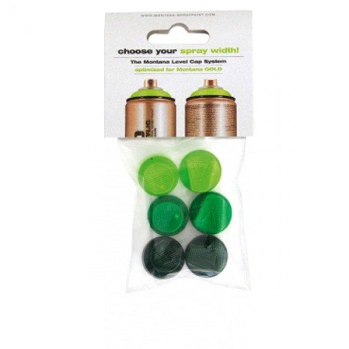 DISCONTINUU - 292910 - Set 6 capete spray Montana 1-6