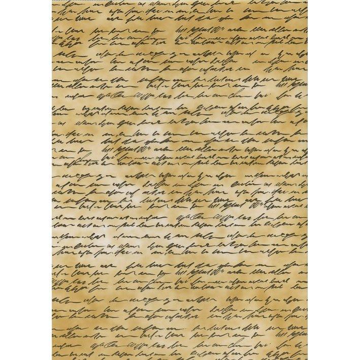 Hartie transparenta, calc - A4 - Text brown - HEYDA