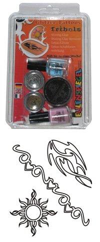 PE COMANDA - Set Tatuaj - Tatoo Glitter - Tribals - 730546