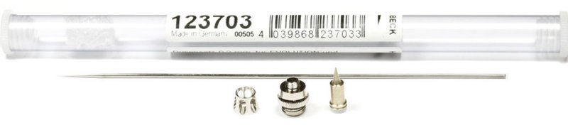 123703 - Set ac + duza 0.2 mm - Needle / Nozzle Set - Harder & Steenbeck