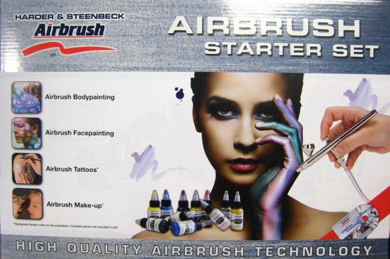 Set aerograf - starter set - body edition - 125560