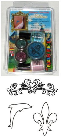 Set Tatuaje - Tatoo Glitter - Noblesse - 730508