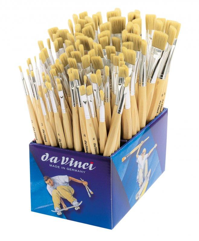 Display 4090 pensule - JUNIOR BORSTE BRISTLE - Da Vinci