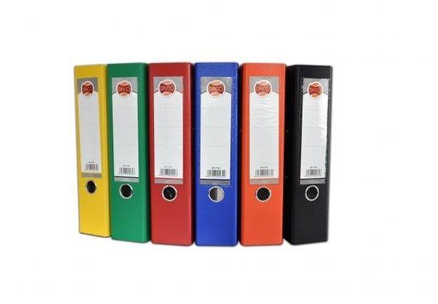 Biblioraft A4 , plastifiat 7.5 cm diferite culori - DACO