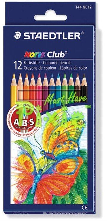Set 12 creioane colorate NORIS - 144NC12