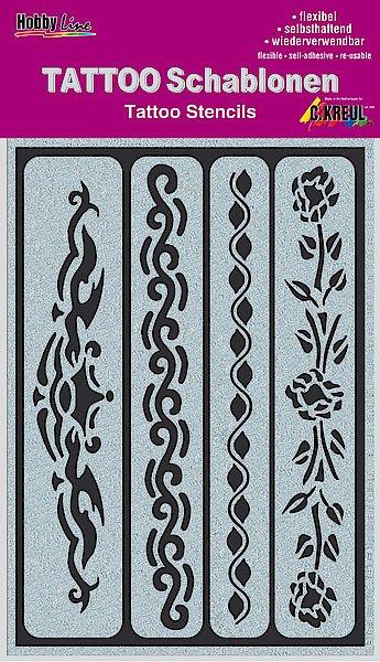 62140 Sablon tatuaje autoadeziv Ribbons - C. Kreul