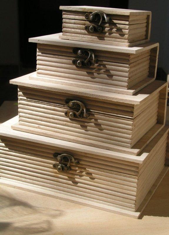 Set 4 cutii carte - PENT - 704297