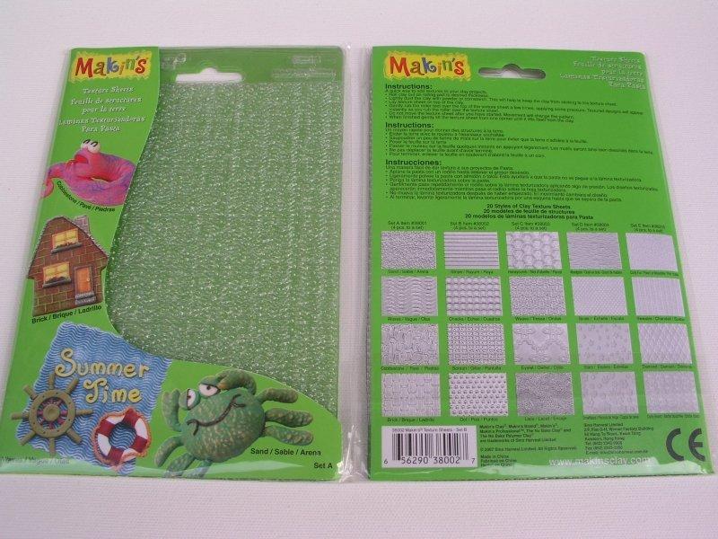 38001 / 2118661054 - Clay Texture Sheet - Set A