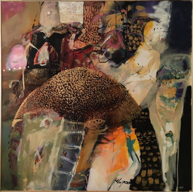 Tablou pe panza - Poveste - 150x150cm