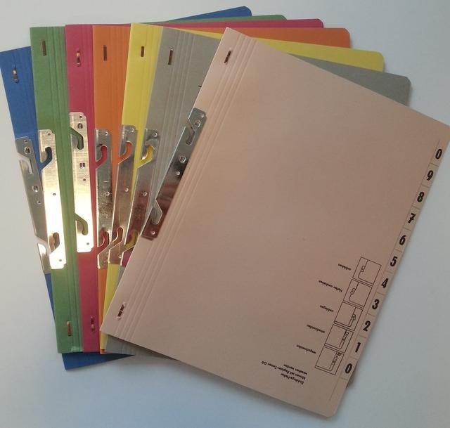 Dosar carton incopciere 1/1 - diverse culori