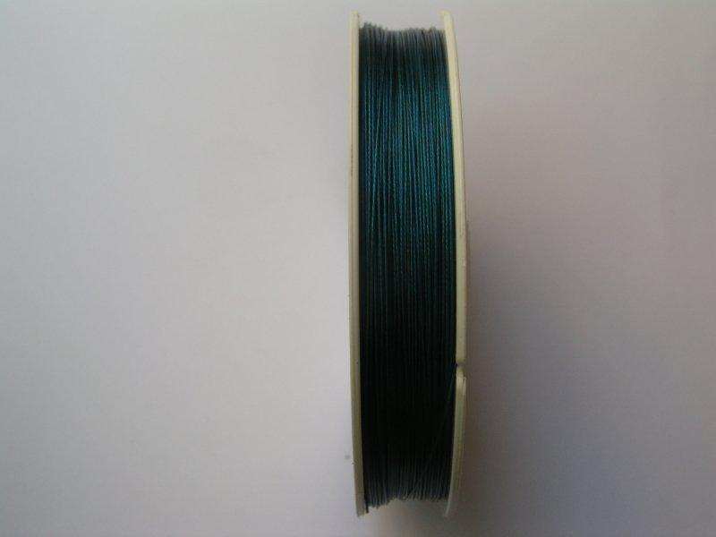Sarma plasticata - 100 m - albastru 0.3mm - 1225B