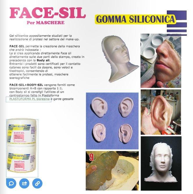 PE COMANDA - FACE-SIL 1KG - GS525PRK1 - Gel siliconic ptr. fata si corp
