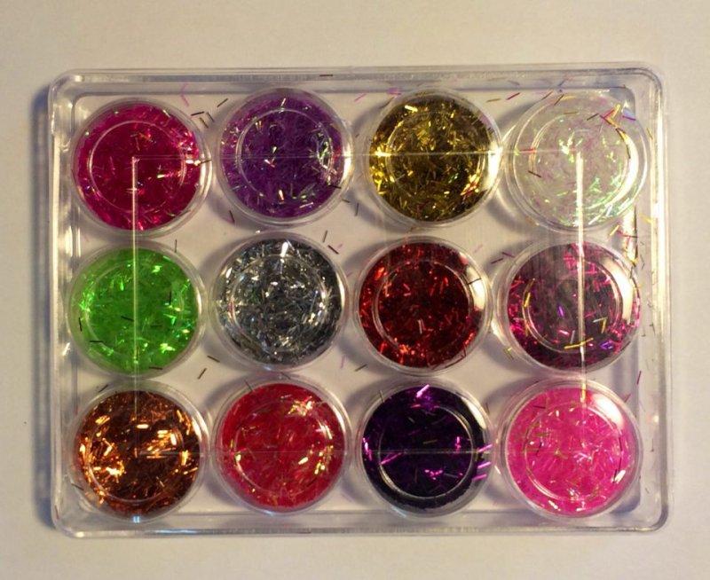 371700 - Set 12x1.5gr glitere mix color - ANT-CH