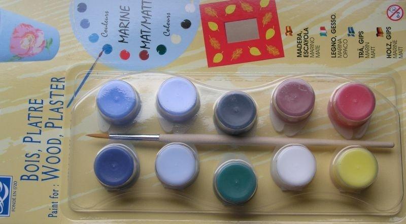 Set 10x4 ml - L&B - Wood, Plaster - culori Lemn, Plastic