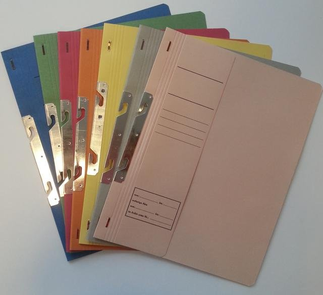 Dosar carton incopciere 1/2 - diverse culori