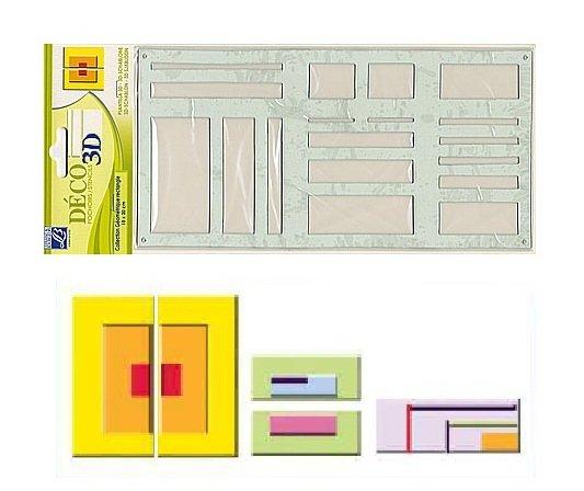 Sablon 3D - Rectangular pattern - Lefranc&Bourgeois