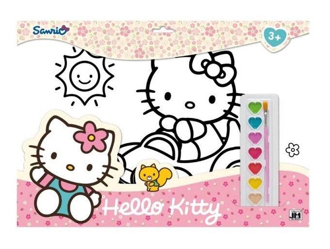 7022201 Set pentru colorat A3 Hello Kitty