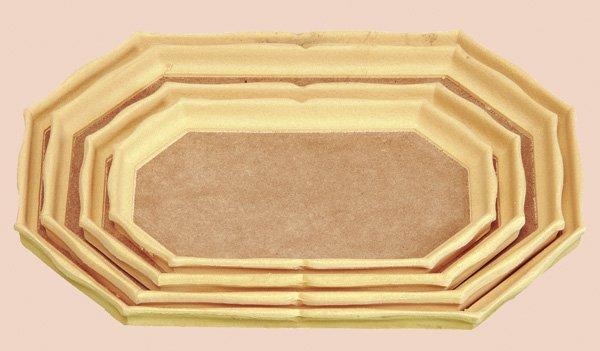 LEP041 - Tava octogonala - latura lunga - mdf - Arte