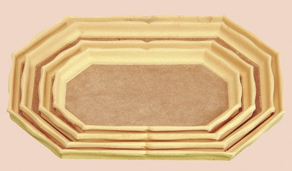 LEP040 - Tava octogonala - latura lunga - mdf - Arte