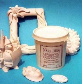 Marmorina - Praf Ceramic - Alb Clasic - BIANCA - 10 kg