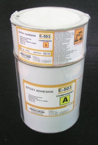 E - 503 Chit epoxidic adeziv - Masitic pentru marmura si teracota - PROCHIMA