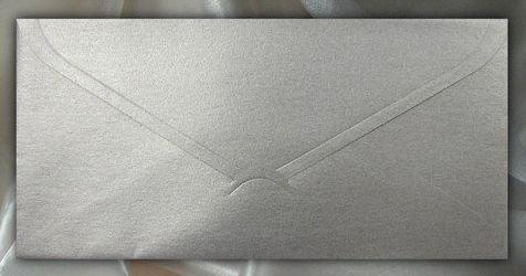 KP06.09 - Plic argintiu 11 x 22 cm , 120g - ITD