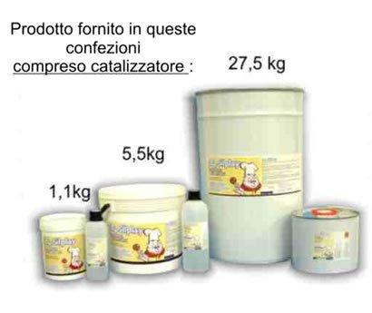 GS530SP01K1 - Cauciuc S. 184 SILPLAY 1,1 kg - industria alimentara