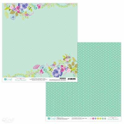 PYDU-014-P03 Hartie scrap booking - 30.5x30.5 Floral Market 3 - DP CRAFT