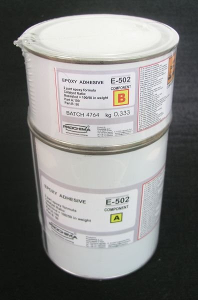 E 502 Adeziv epoxidic bicomponent - cu intarire rapida - PROCHIMA