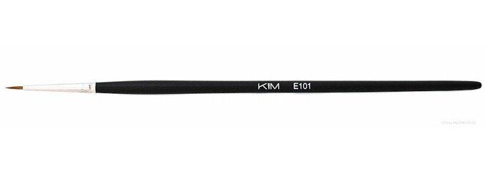 E101 - Pensula liner pentru ochi - KIM