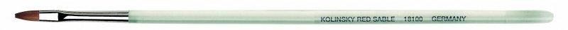 Pensula de unghii cu par natural Kolinsky - profesionala - Da Vinci - 18100/4