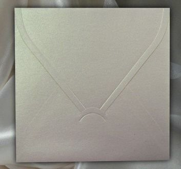 KP01.07 - Plic ivory sidefat 14 x 14 cm , 120g - ITD