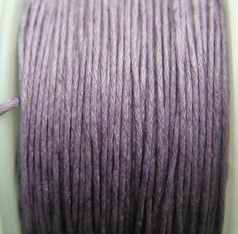 6339- Sfoara bumbac - violet, 0,8 mm / 1m