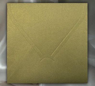 KP02.08 - Plic auriu 15.6 x 15.6 cm , 120g - ITD