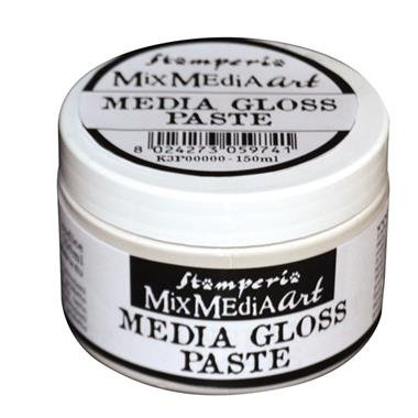 K3P39 - Media gloss paste 150ml - Pasta Media lucioasa - Stamperia