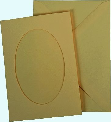 Plic paspartu oval - heyda 11.5 16cm.