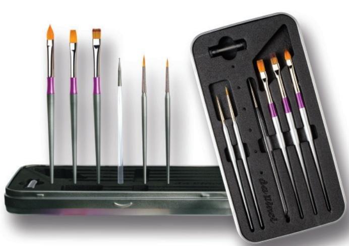 Set pensule unghii - Da Vinci - 11090