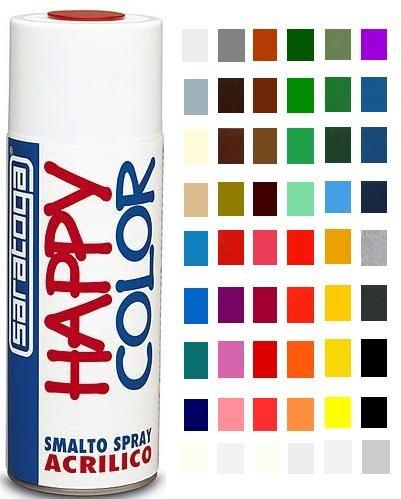Spray Happy Color Smalto Acrilico 400 ml - Saratoga