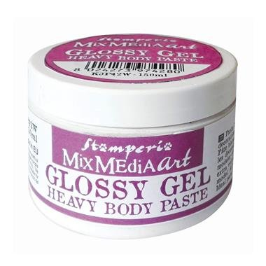 K3P43 - Glossy gel heavy body paste - gel pasta dens - Stamperia