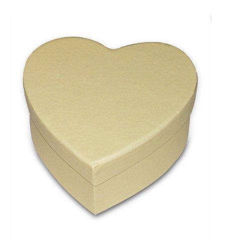 KC32 - Cutie carton inima, Stamperia - 10.5 9.5 5