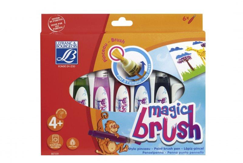 Set 6 Magic brush Lefranc