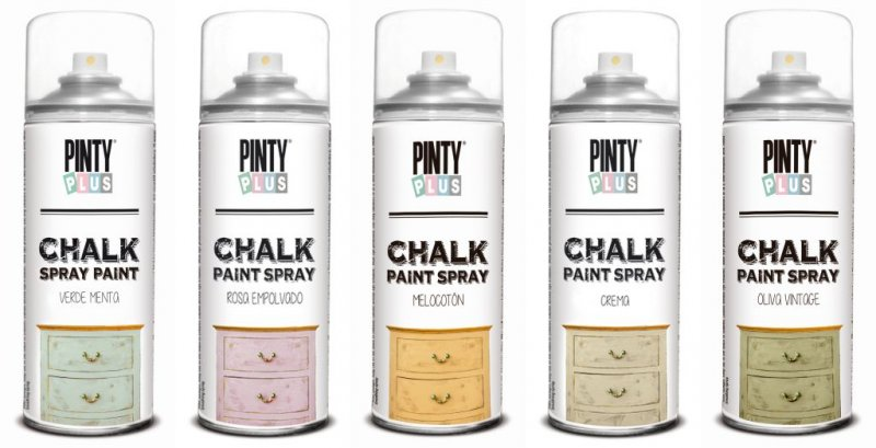 Chalk Paint Spray - pe baza de apa 400ml - Pinty Plus Chalk 520CC